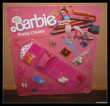 MATTEL Barbie Finishing Touches PRETTY CLOSETS New Never Removed from Pack