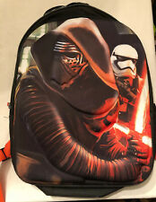 New Disney Star Wars The Force Awakens Kylo Ren Backpack Bookbag No Tags