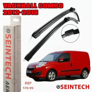 """VAUXHALL/OPEL COMBO 2012-2018 SPECIFIC FIT FRONT WINDSCREEN WIPER BLADES 24""""16"""""""