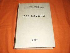 commentario codice civile utet del lavoro art.2060-2221 1a edizione 1962