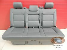 VW T5 Sitzbank Multivan Sitz Schlafbank Leder Anthrazit seat bench leather