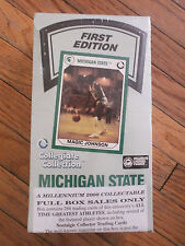 MICHIGAN STATE COLLECTOR TRADING CARDS Spartans Sports Greats NEW Sealed NOS