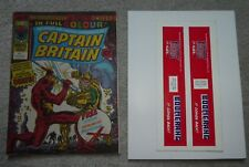 marvel Comics Captain Britain 2 2nd appearance VFN 8.0 new unused Mask colour
