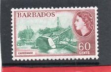 Barbados QE2 1953-61 60c sg 299 NHM