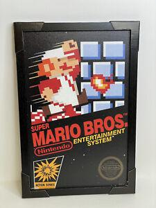 """Nintendo Super Mario NES Video Game Room Art Print Frame 13""""X19""""  Framed Poster"""