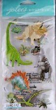 Jolee's Dinosaurs Pterodactyl T-Rex Stegosaurus Jurassic Park 3D Stickers