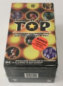 LONG WAY TO THE TOP - 3 VHS Box Set New Sealed