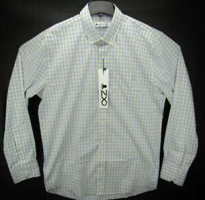 NWT Z8 Clothing Men's Size XL Long Sleeve Button Down Shirt Plaid