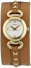 Women's Adult GUESS Silver Strap Wristwatches