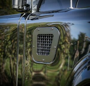 Land Rover Defender Stainless Steel Stealth Air Intake Vent - Uproar 4x4