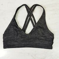 LORNA JANE | Womens Marle Grey Sports Bra  [ Size S or AU 10 / US 6 ]