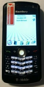 READ 1ST BlackBerry Pearl 8100 Black (T-Mobile) Cell Phone NEW OOB Bundle MIC