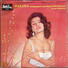 DALIDA JE PARS / ALONE / TIMIDE SERENADE 45T EP BIEM BARCLAY 70.165
