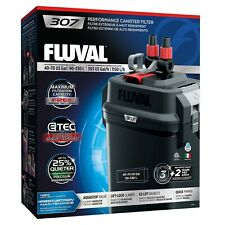Fluval 307 External Canister Filter complete media and accessories 40-75 Gallon