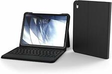 """ZAGG Messenger Folio Case with Bluetooth Tablet Keyboard for iPad Pro 11"""" Black"""