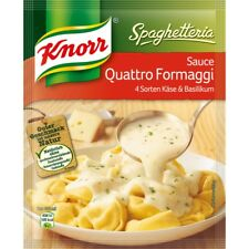 7 x Knorr Spaghetteria Quattro Fromaggi Sauce New from Germany