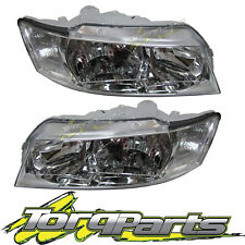 HEADLIGHTS PAIR SUIT VZ COMMODORE HOLDEN HEADLAMP LAMP LIGHT OMEGA EXECUTIVE