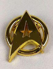 STAR TREK - GOLD Communicator Pin - Starfleet - Captain Kirk - Federation