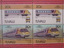1981 BR APT (Advanced Passenger Train) 50-STAMP SHEET (Leaders of the World)