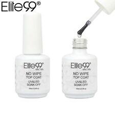 Elite99 15ml Vernis À Ongles Non Wipe UV LED Gel Nail Polish Top Coat Sealer 1pc