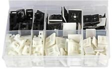 Cable Tie Mounts & Bases Kit, Pack of 180 - PRO POWER