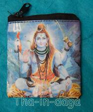 Porte Monnaie Plastique Divinites Indiennes 8x8cm 5g Tha-in-daga Inde E