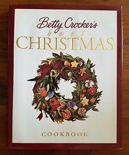 Betty Crocker's Best Christmas Cookbook Holiday Recipes (1999, HB)