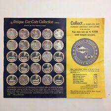 Sunoco DX Antique Car Coin Collection - Series 1