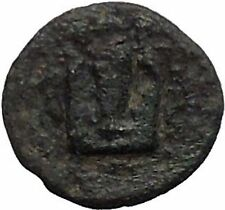 KOLOPHON in IONIA 350BC Apollo Musical Lyre Authentic Ancient Greek Coin i54796