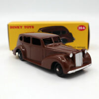 Atlas Dinky Toys 39A Packard Eight Sedan 1/43 Diecast DEAGOSTINI Brown