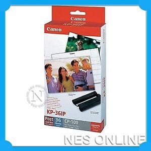 CANON KP-36IP Ink/Paper CP760 CP770 CP780 CP800 CP910 CP1200 CP1300 KP36IP