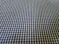 F324, CLEARANCE SALE, Dunroven, navy homespun fabric,1 yard, new,