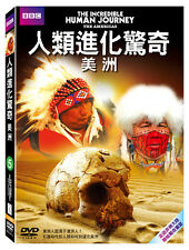 BBC: The incredible human journey - The Americans TAIWAN DVD ENGLISH SEALED