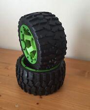 HPI Baja HD Stone pneu vert arrière Set Pour HPI Baja 5B, 5 T, 5SC, KM, ROVAN, 1/5