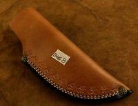 Handmade Leather Sheath for Custom Knife-Knife Sheath Cover Pouch- BGS8