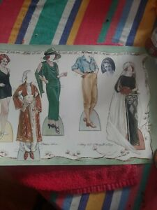 Edna St Vincent Millay  Paper Doll Cut Out