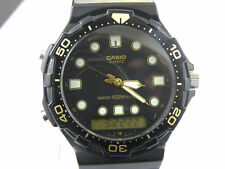 Gents Casio AQ-120W Digital Analog Divers Watch -100m