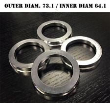 SET OF 4 HUB CENTRIC HUBCENTRIC ALUMINUM RINGS 73.1mm - 64.1mm 73mm 64mm
