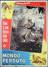 CINEMA-fotobusta MONDO PERDUTO rennie, st.john, ALLEN