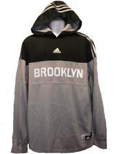 Brooklyn Nets Mens XL-3XL +2 On Court Light Weight Hoodie $110