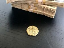 Gold Escudos Coin Replica Feel and sound like real doubloon pirate treasure