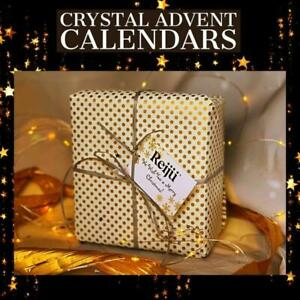Crystal Christmas Advent Calender Inc 24 Individually Wrapped Gifts (RRP £125)
