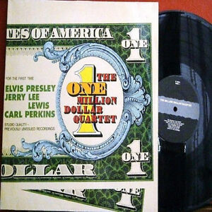 "King ELVIS Presley ""THE 1 MILLION $ QUARTET""! Lewis♫Cash♫Perkins EU 2LP Gospel M"