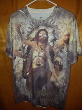 Used Minute Mirth Jesus Short Sleeve T Shirt medium streetwear punk