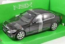 BMW 330i , Black, Model Car,  Welly 1/24 Scale