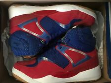 reebok pump 25th size 13 royal/red/white worn 15 minutes