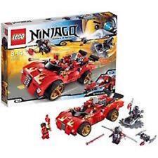 LEGO  70727 NINJAGO X-1 NINJA CHARGER CAR  SEALED NEW 394 PIECES  BONUS OFFER E