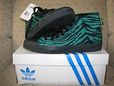 ADIDAS ORIGINALS ObyO JEREMY SCOTT NIZZA HI GREEN TIGER Leopard Zebra Bear stree