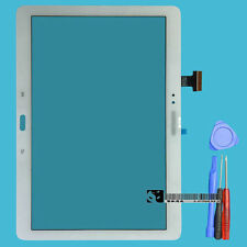 For Samsung Galaxy Note 10.1 SM-P600 white Touch Screen Digitizer Glass Lens