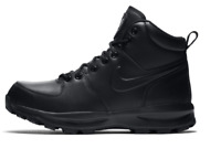 Brand New Geniune Nike Manoa Leather Black Mens Boots Shoes All Sizes